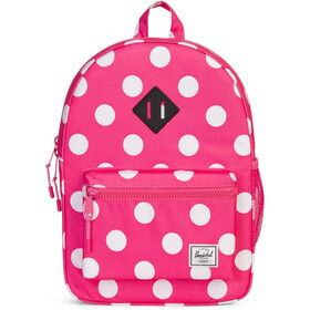 Herschel Heritage Backpack Youth Polka Dot Fandango pink